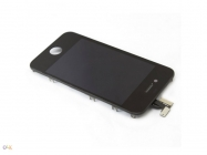 Touchscreen C/ Display Iphone 4G Preto (High Quality)