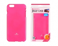 BOLSA JELLY MERCURY IPHONE 6 ROSA FLURESCENTE
