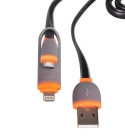 CABO DADOS 2IN1 MICRO USB/ IPHONE