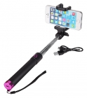 SELFIE STICK C/ BLUETOOTH - ROSA