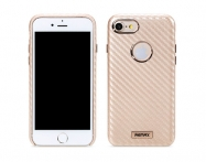 Bolsa Remax Carbon  Iphone 7/ 8 Gold