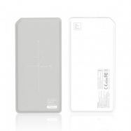 Power Bank Wireless Remax PPP-33 Cinza/Branca 10000mAh