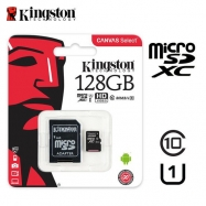 Kingston Micro SD 128GB class10 C/Adapt