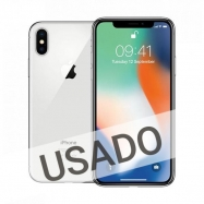 Apple iPhone X 64GB Silver  (Grade A Usado)